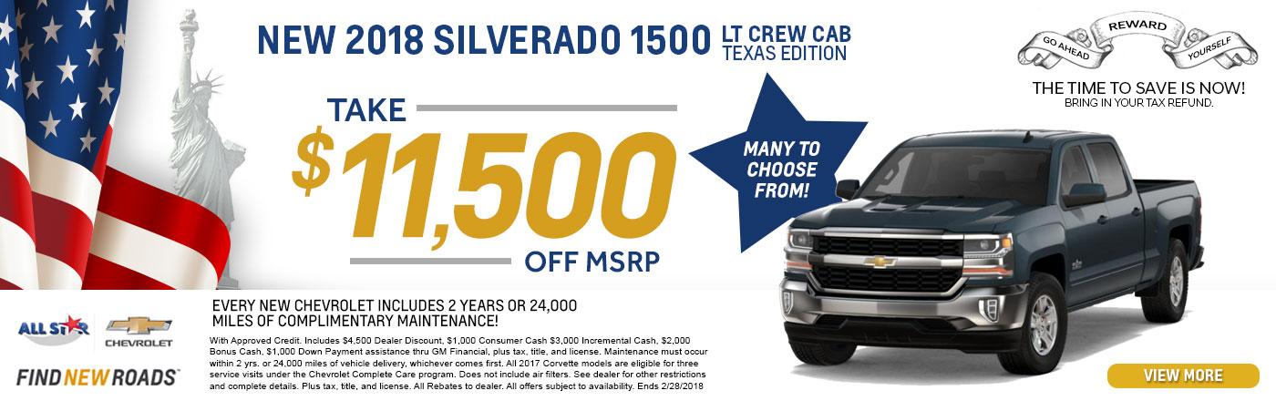 Chevrolet Silverado Offer