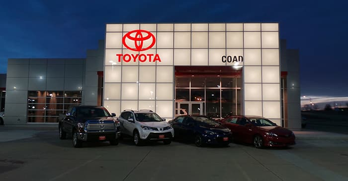 Find Out Where Coad Toyota Is Located Here