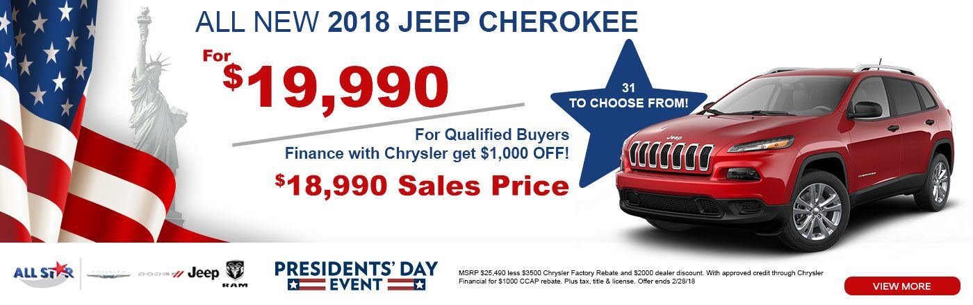 Jeep Dealership Baton Rouge >> Monthly Specials In Baton Rouge La All Star Dodge Chrysler Jeep Ram