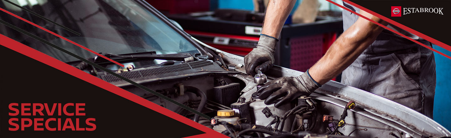 Service and Parts Specials Estabrook Nissan