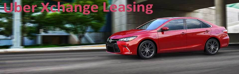 Lease a New Toyota with Xchange Leasing from Uber