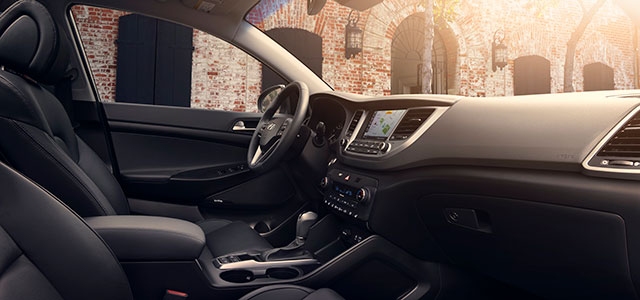 Interior 2018 Hyundai Tucson