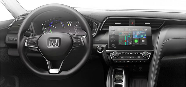 2019 Honda Insight Prototype dashboard