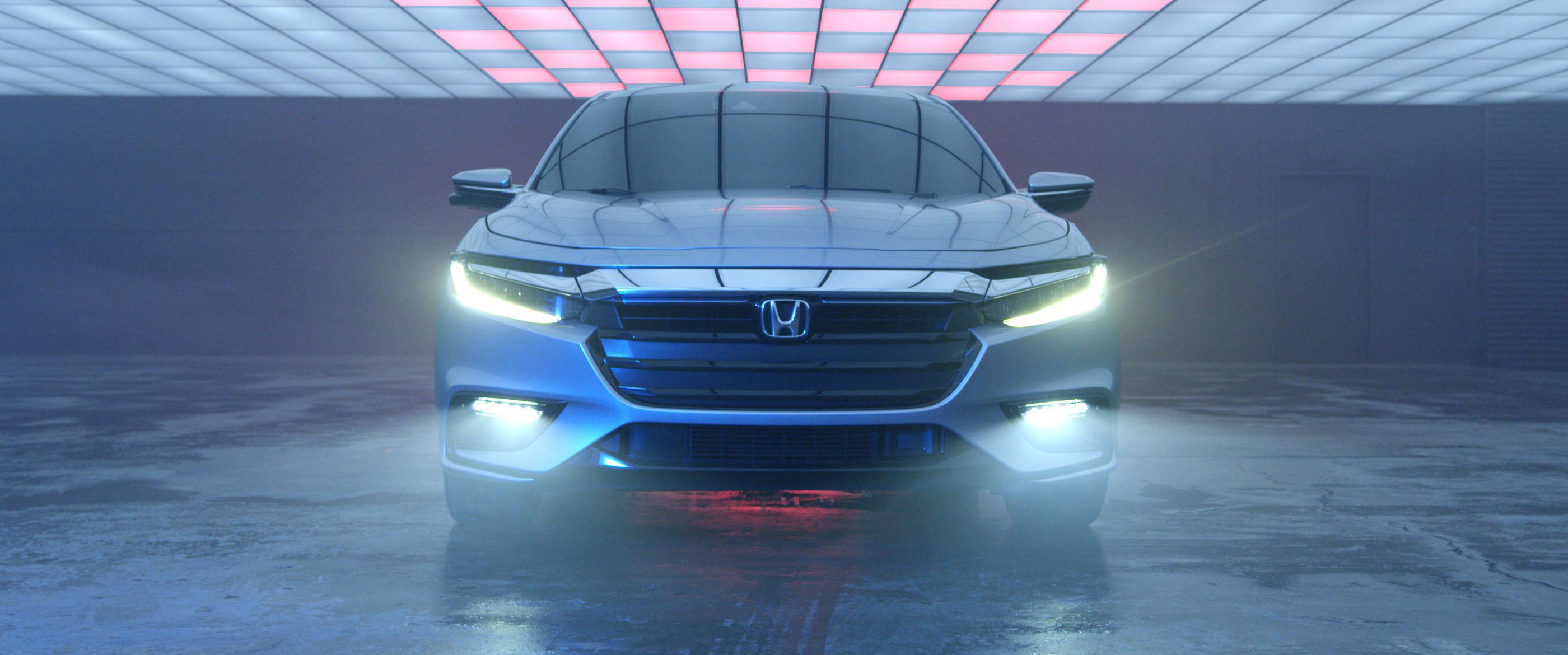 Front view of 2019 Honda Insight Prototype