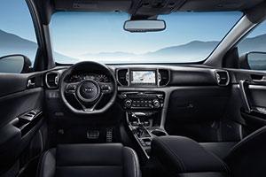 Interior 2018 Kia Sportage