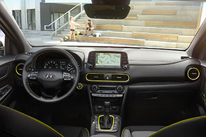 Interior 2018 Hyundai Kona
