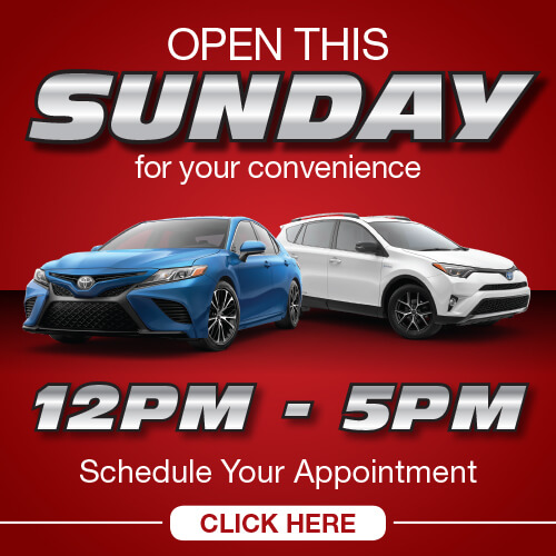 Open this Sunday