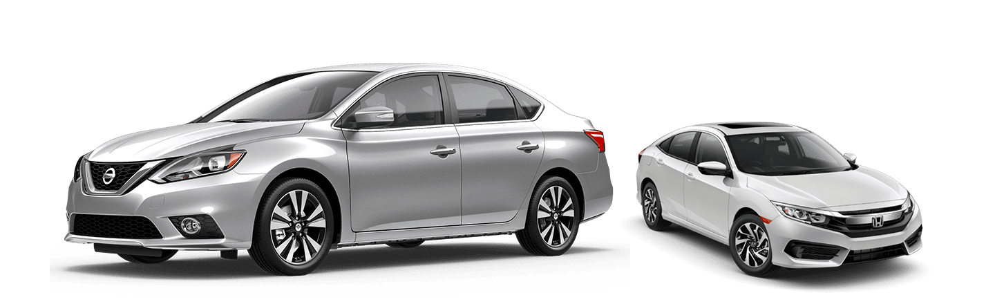 2019 nissan sentra vs 2019 honda civic. Black Bedroom Furniture Sets. Home Design Ideas