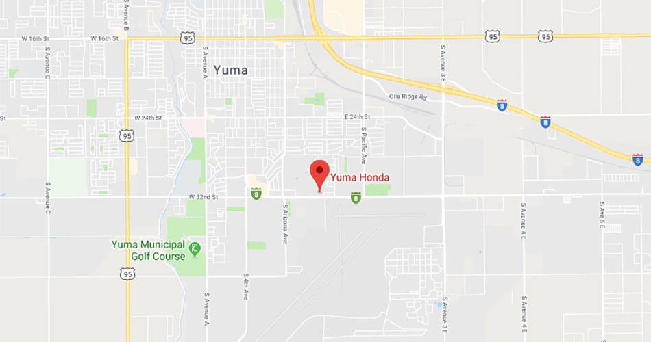 Directions to Yuma Honda