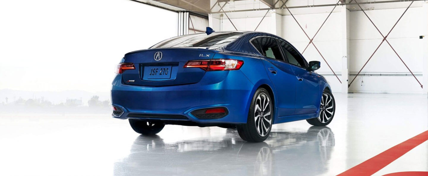 Rear view of 2018 Acura ILX