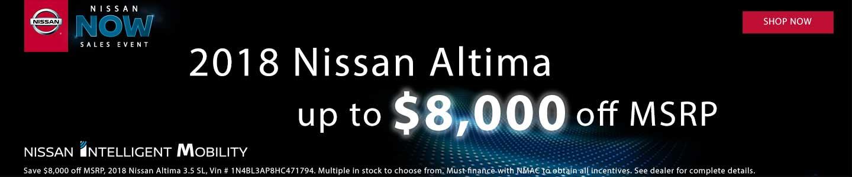 2018 Nissan Altima Special