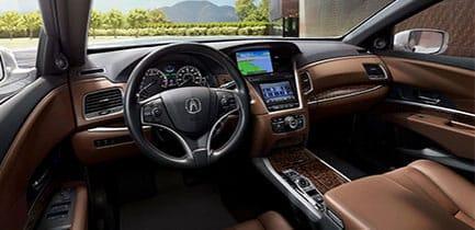 Interior 2018 Acura RLX