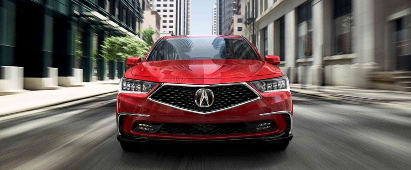 Front view of 2018 Acura RLX