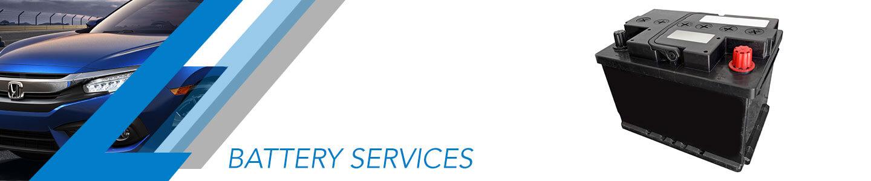 Stevenson Honda, battery services