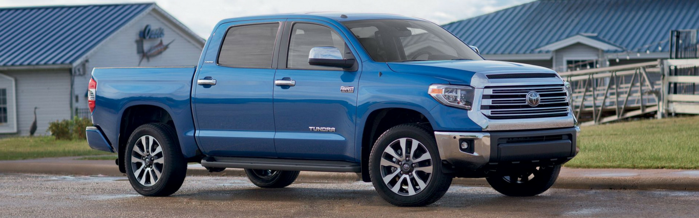 The 2018 Toyota Tundra at Capital Toyota