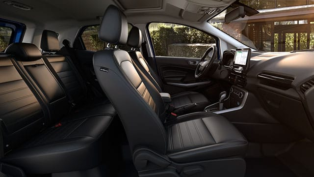 Interior 2018 Ford EcoSport