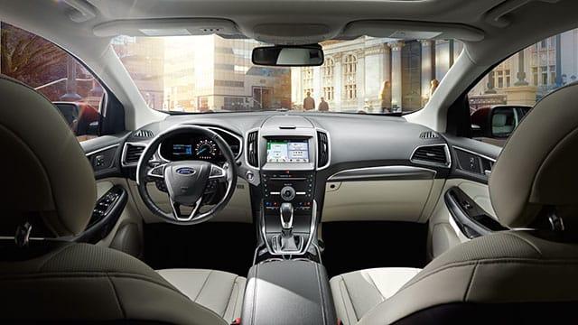 Interior 2018 Ford Edge
