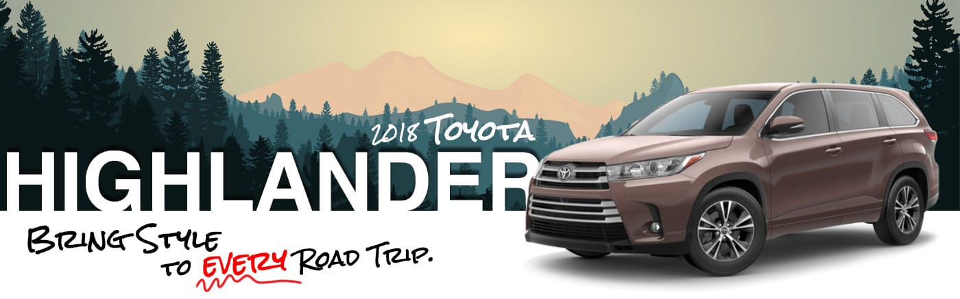 2018 Plum Exterior Highlander On Road at Parks Toyota of Deland