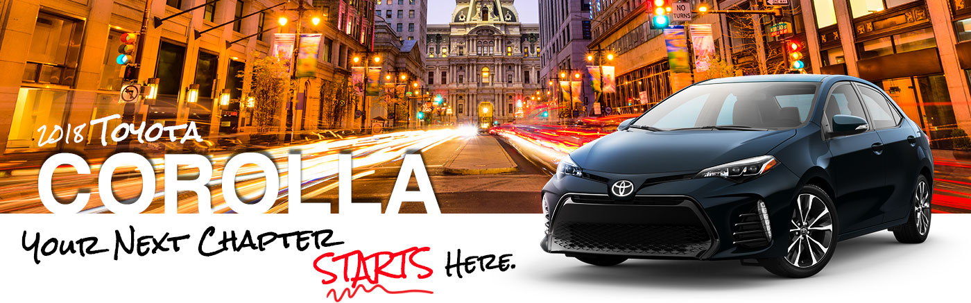 2018 Corolla On Road at Parks of Deland Toyota