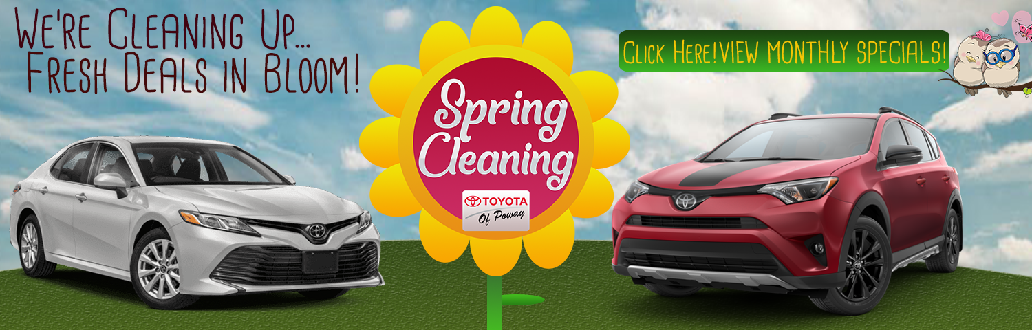 New and used dealer in poway near san diego ca toyota of poway spring cleaning is here at toyota of poway solutioingenieria Choice Image