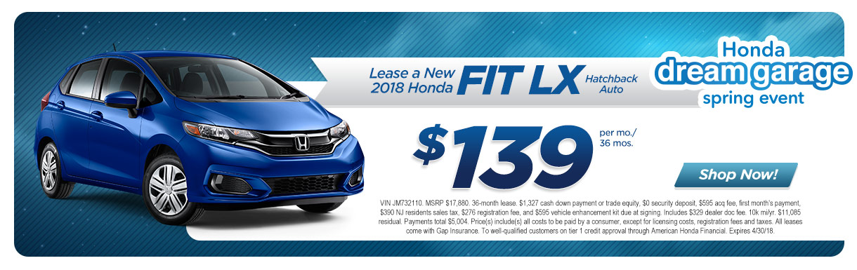 Honda dealer marlton nj burns honda 2018 fit lx fandeluxe Choice Image