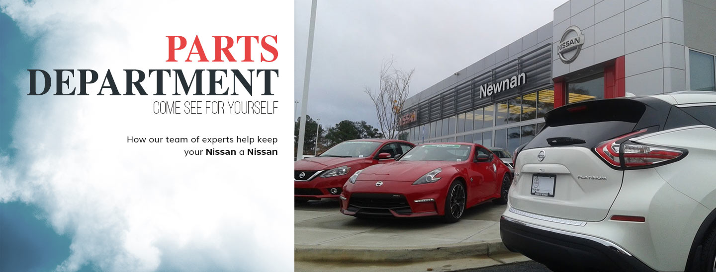 Nissan parts department nissan of newnan near atlanta ga fully stocked parts center in newnan ga serving fayetteville drivers solutioingenieria Image collections