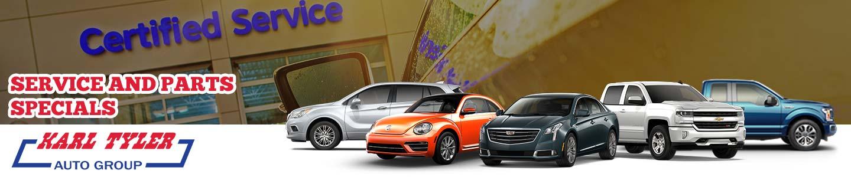 Service & Parts Specials | Karl Tyler Automotive Group