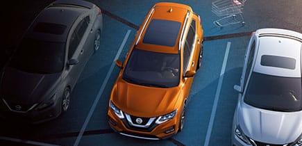 Interior 2018 Nissan Rogue