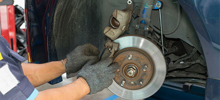 Front or Rear Brake Pad Replacement