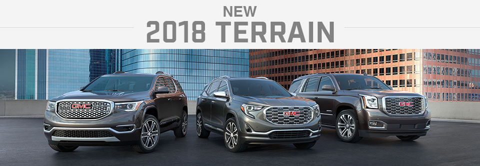 The All New 2017 GMC Terrain
