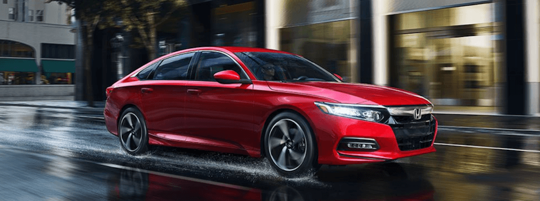 2018 Honda Accord - red