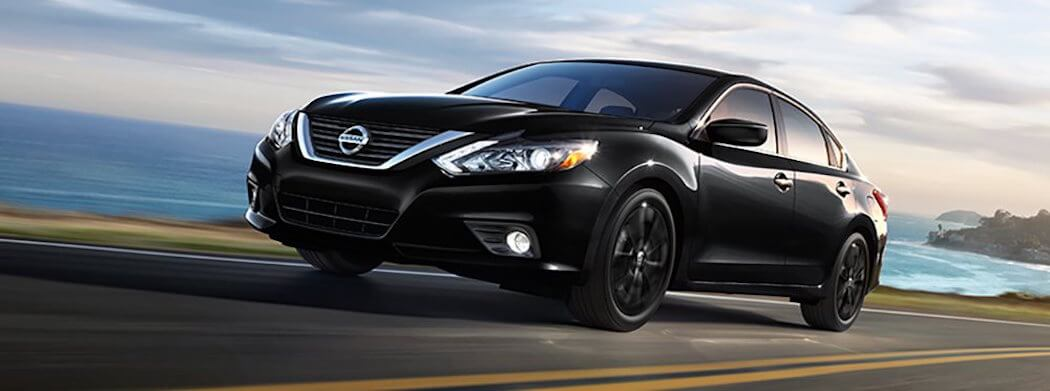 2018 Nissan Altima - black