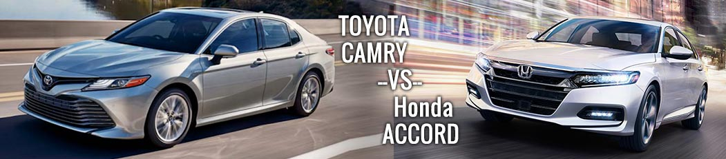 toyota camry vs honda accord - jerry durant toyota Granbury, TX