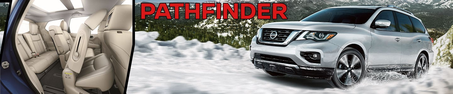 pathfinder interior snow off road