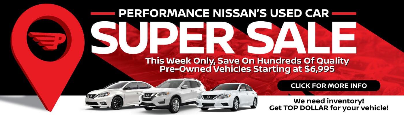 Performance Nissan Super Sale