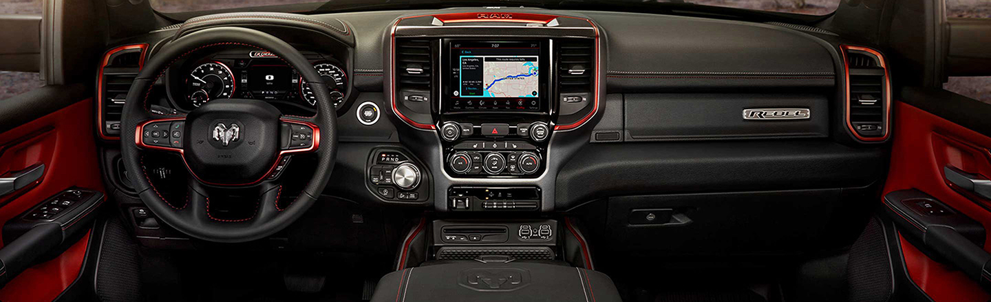 Custom Ram Truck Interiors In Montclair, CA