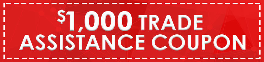 $1000 trade assistance coupon