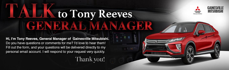 Gainesville Mitsubishi talk to the GM