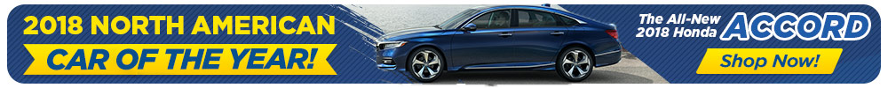 Honda Accord North American Car of the Year