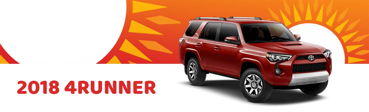 2018 Red Exterior 4Runner at Ehrlich Toyota