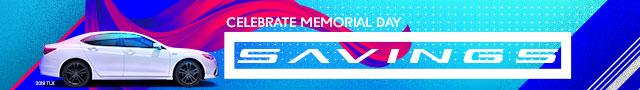 Celebrate Memorial Day Savings!