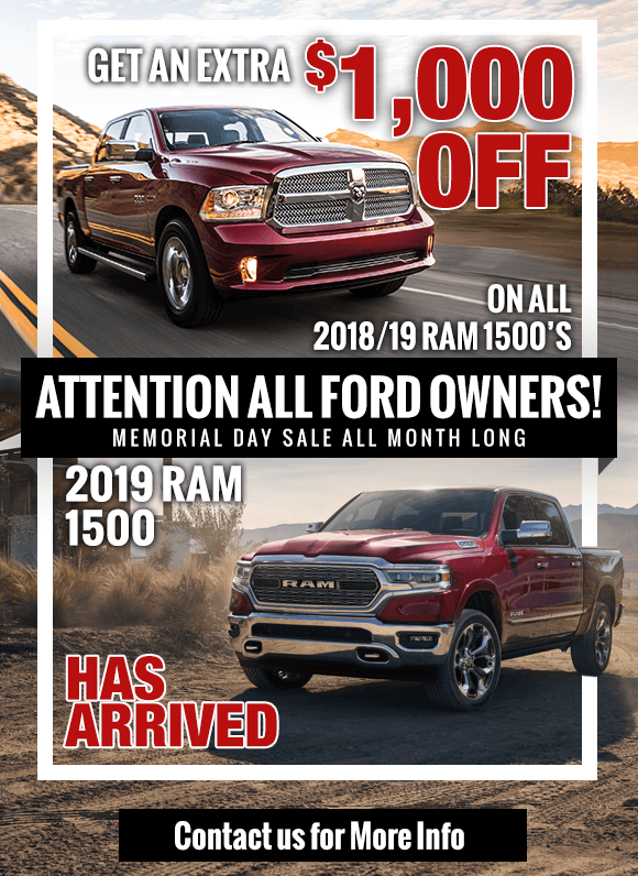 2019/18 Ram 1500 Special at San Antonio CDJR