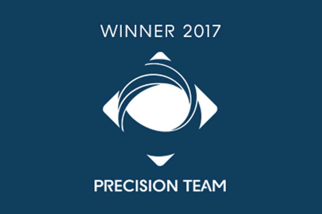 Winner 2017 Precision Team