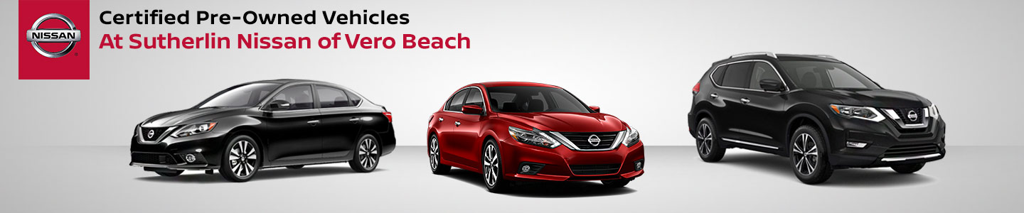 Nissan Certified Program by Port St. Lucie, FL