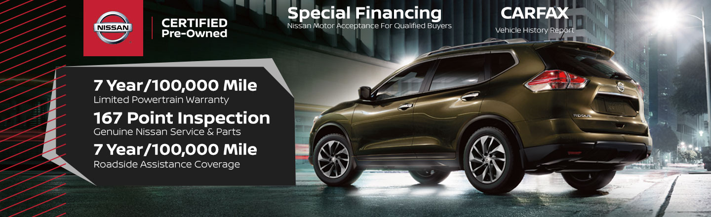 Nissan Certified Pre Owned >> Nissan Certified Program In Buford Ga Sutherlin Nissan Mall Of