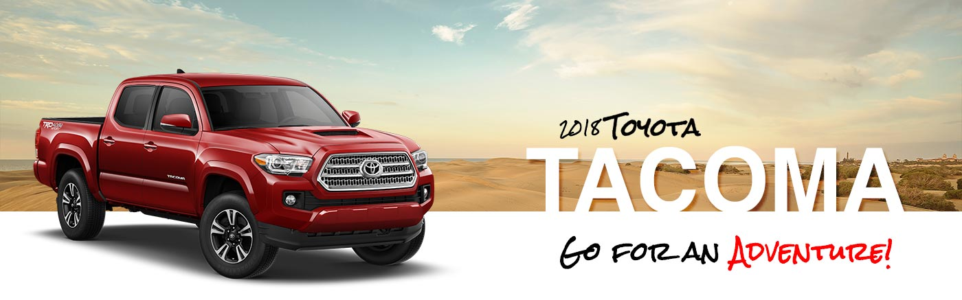 2018 Toyota Tacoma Pickup Trucks for Sale | Claremont Toyota