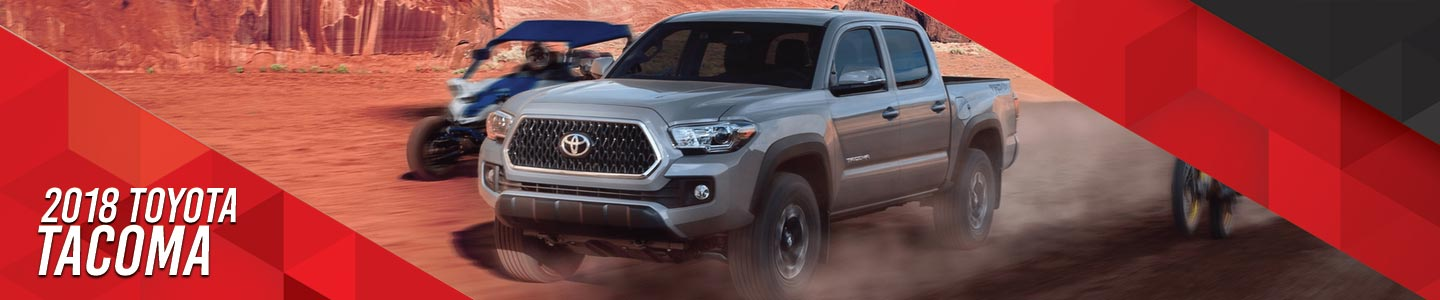 Stock Photo of 2018 Toyota Tacoma