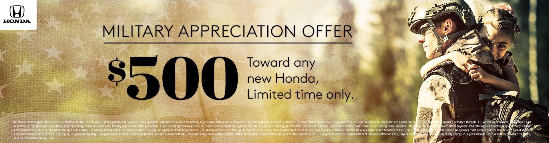 Honda Special Programs