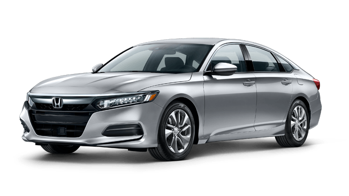Modern Silver Metallic Honda Accord Sedan Body