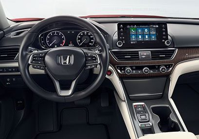 New Honda Accord Cabin